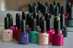 Shellac gel nail polish